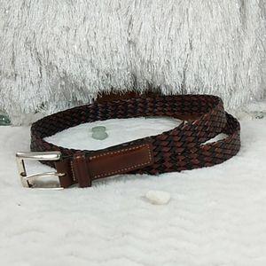Trafalgar all leather belt